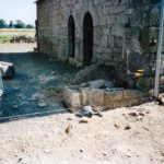 Reconstruction mur d'enceinte- Avant