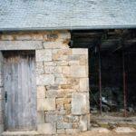 Transformation écurie en garage - en cours