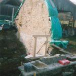 Transformation d'une étable en habitation- En cours