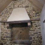 Loguivy - reconstruction hôte de cheminée