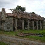 Grange orthostate - Réfection de la charpente - Bâtiment inscrit au dictionnaire des Côtes d'Armor