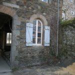 Transformation fenêtre en porte - Etat initial