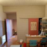 Agencement intérieur ossature bois - terminé - Plan et Maîtrise d'oeuvre - Cabinet de kinésithérapeute