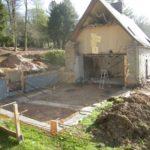 Préparation chantier extension ossature bois - Maîtrise d'oeuvre
